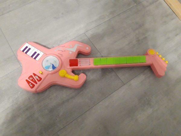 Rockgitarre Pink