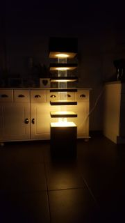Stehlampe Eigenbau