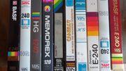 10 VHS CASSETTEN ÜBERSPIELT