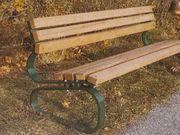 Transportable Park- und Gartenbänke