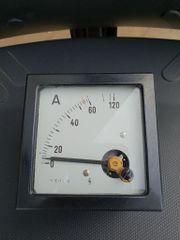 Schalttafel Einbauinstrument 0-120 Ampere neuwertig