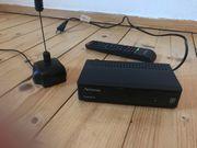 DVB-T Receiver und Antenne