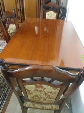 Stubentisch mit 4 Stühlen