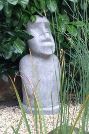 Gartenfigur Buddha Moai Stein 85