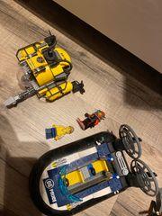 Lego Polizei Boot und U-Boot