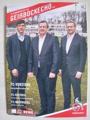 NEU ungelesen FC-Clubmagazin Geißbockecho Nr
