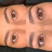 Wimpernlifting Lashlifting mit Lamination Wimpernextensions