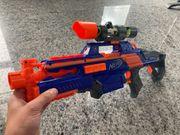 Nerf Full Automatik Gewehr Set