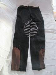 schwarze stretchige Reithose zu verkaufen