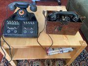 Altes Reichsbahntelefon u Feldtelefon