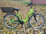 Damen Fahrrad mit Korb