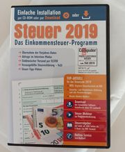 Steuer 2019 Das Einkommensteuer - Programm