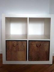 Kallaxregal IKEA weiß 2x2 ohne