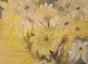 Blütenmeer - Original Gemälde Acryl auf