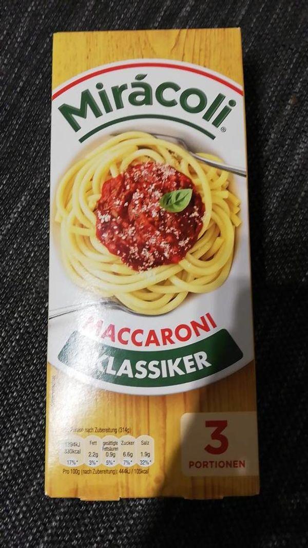 Miracoli mit Parmesankäse noch Haltbar