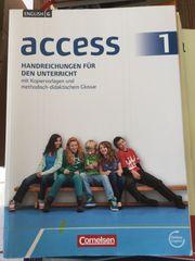 English G Access 1 Handreichungen