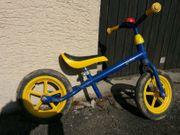 Laufrad Kiddio Kettler blau gelb