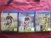 PS 4 FIFA Sammlung