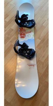Burton Snowboard mit Bindung auch
