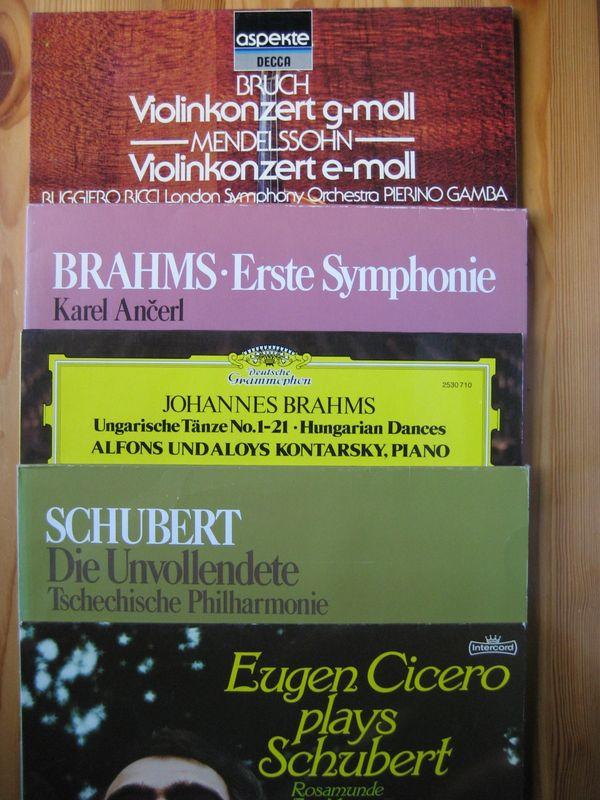 67 Schallplatten Klassik