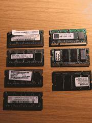Verschiedene SO-DIMM DDR2 SDRAM Module
