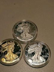 Münze Dollar Mills Medaille Souvenir