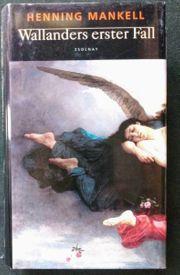 Buch Henning Mankell Wallanders erster