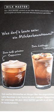 Tschibo Milchschäumer für Cappuccino etc