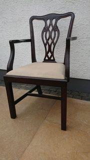 5 Stühle Hepplewhite Stil antik
