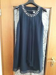 Festliches Damenkleid Blau Heine Gr