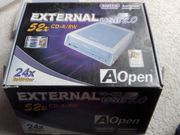 External CD-R RW 52x CD-Brenner