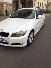 BMW 320d Touring Weiß Aut