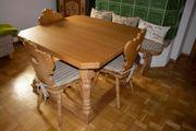Bauernmöbel - Jockltisch Esstisch mit 3