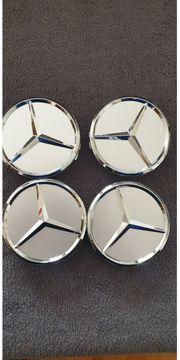 Mercedes Radkappen 75 mm