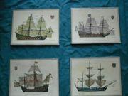 Kunstdrucke Maritime Lithograhien von H