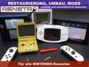 Reparatur Umbau von Nintendo Konsolen