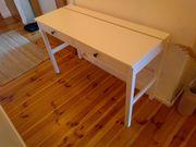 Schreibtisch Ikea Hemnes - fast wie