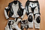Motorrad Lederkombi Arlen Ness Stiefel