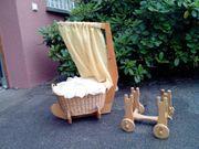 Puppenwagen und Wiege