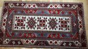 Türkischer Teppich mit Natur Wurzelfarbe