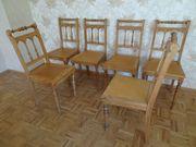 Esszimmerstühle vermutlich Gründerzeit oder Jugendstil