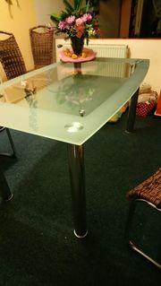 Glastisch für Esszimmer