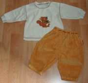 SET - Sweat-Shirt Hose - Größe 68 - 2teilig