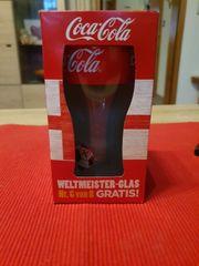 NEU Coca-Cola- Weltmeister-Glas England