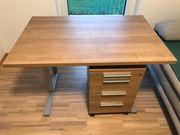 Schreibtisch inkl Rollcontainer