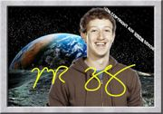 MARK ZUCKERBERG FB Souvenir Deko