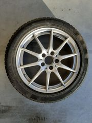 4 x Mercedes Original ALU-Winterkomplettrad