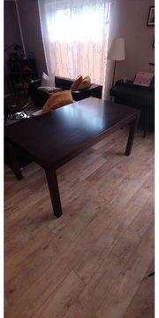 Esstisch Tisch Massivholz 160x90x76cm braun