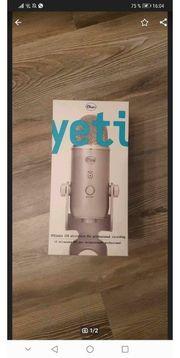 Blue Yeti Pro Mikrofon NAGELNEU