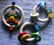 Baby Ringgreiflinge aus Holz 3